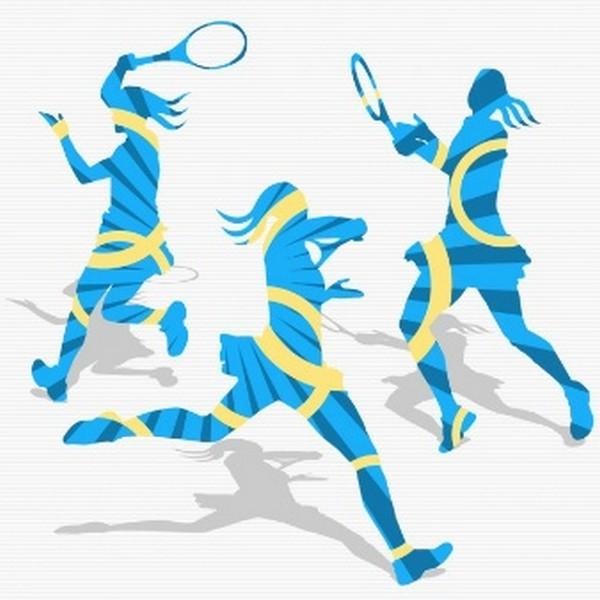 women-s-tennis-silhouettes_1021-24